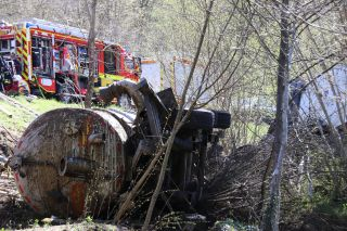 Accident et pollution dans le Mullerthal