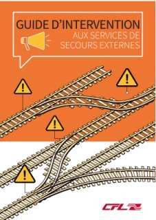 CFL - Guide d'intervention aux secours externes